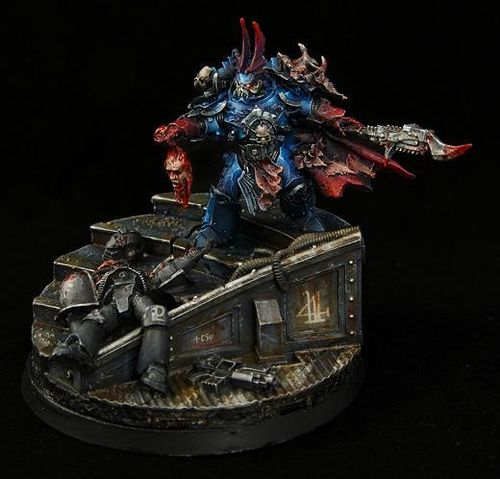 SEVATAR, FIRST CAPTAIN OF THE NIGHT LORDS