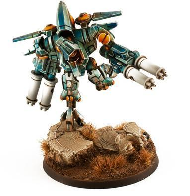 TAU XV9 WITH TWIN-LINKED BURST CANNON