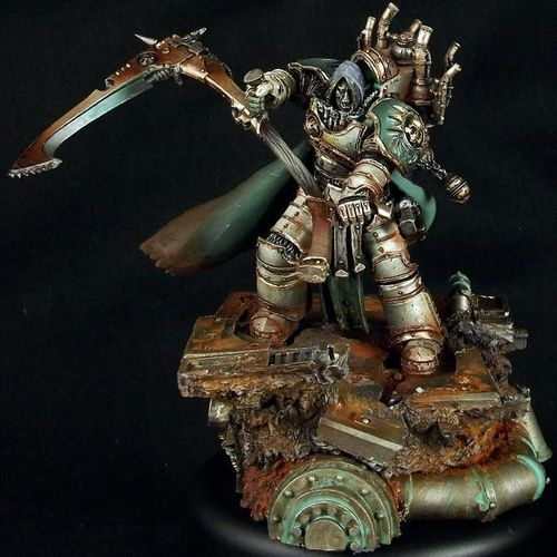 MORTARION THE REAPER PRIMARCH OF THE DEATH GUARD