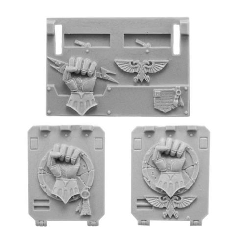 Imperial/Crimson Fists Rhino Doors and Front Plate