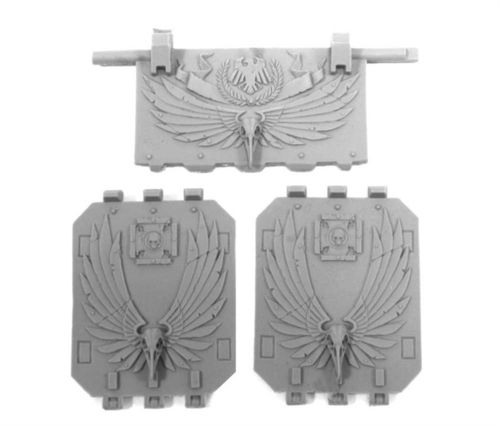 RAVEN GUARD TERMINATOR LAND RAIDER DOORS