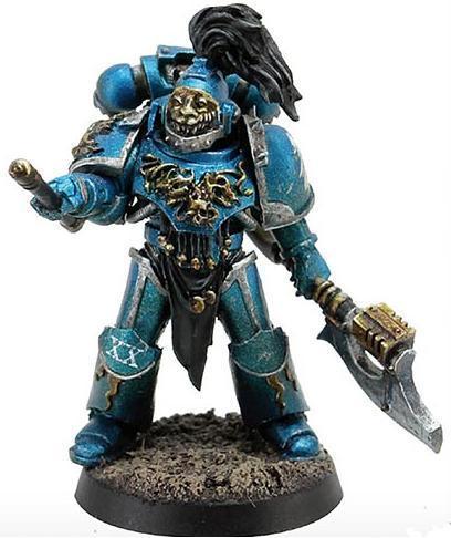 Blue Paint Gw