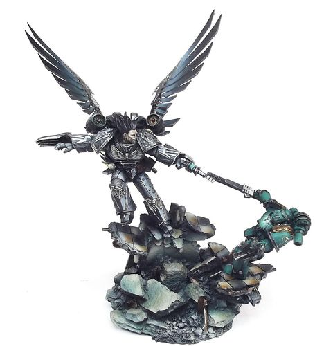 Corvus Corax, Primarch of the Raven Guard
