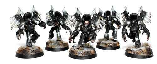 Raven Guard Dark Fury Assault Squad