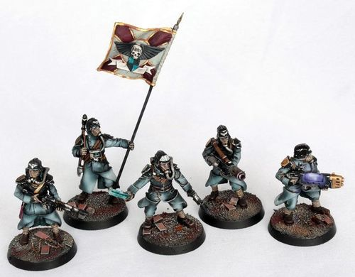 Death Korps of Krieg Command Squad