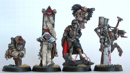 DEATH KORPS OF KRIEG QUARTERMASTER AND RETINUE