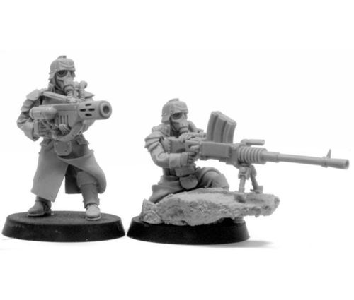 Death Korps of Krieg Grenadier Heavy Stubber and Meltagun