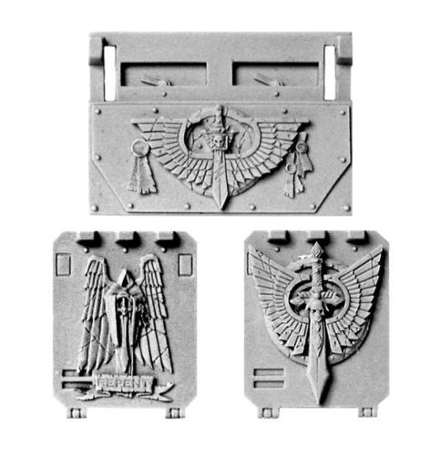 Dark Angels Rhino Doors and Front Plate