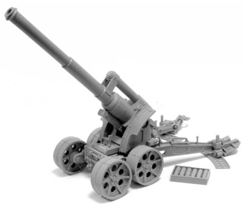 Heavy Artillery Carriage with Earth Shaker Cannon