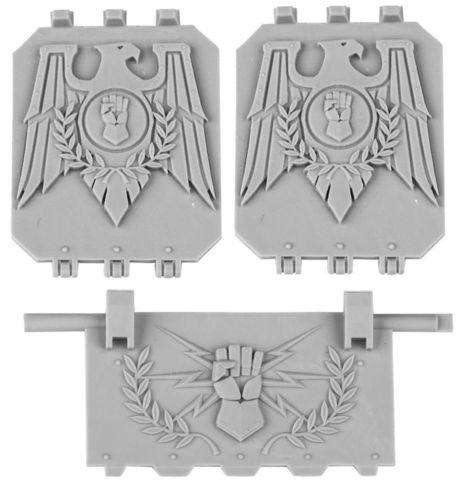 Imperial Fists Land Raider Doors