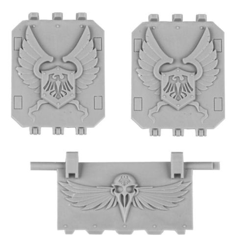 Raven Guard Chapter Land Raider Doors Set 2