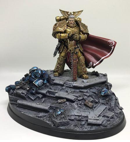 Rogal Dorn, Primarch of the Imperial Fists Legion