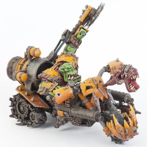 Ork Warboss on Warbike