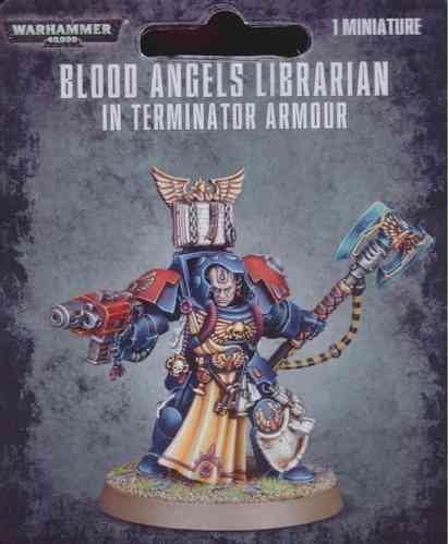 Blood Angels Librarian in Terminatorrüstung