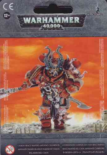 Aufstrebender Champion der Chaos Space Marines