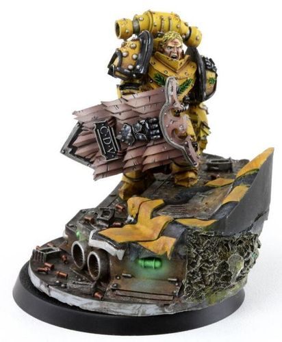 ALEXIS POLUX 405TH CAPTAIN OF THE IMPERIAL FISTS