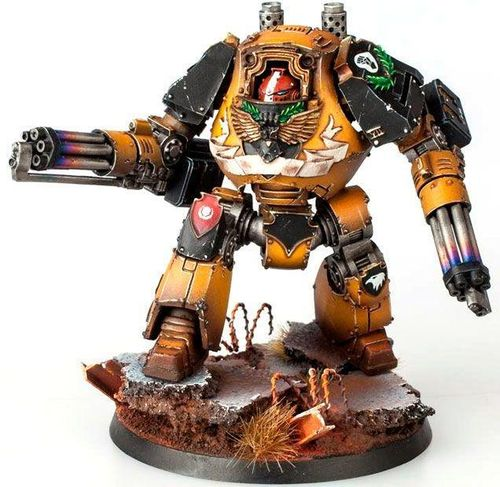 IMPERIAL FISTS LEGION CONTEMPTOR DREADNOUGHT