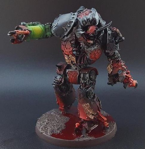 WORD BEARERS MHARA GAL TAINTED DREADNOUGHT