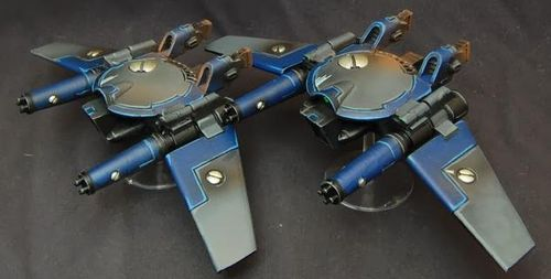 TAU REMORA DRONE STEALTH FIGHTERS