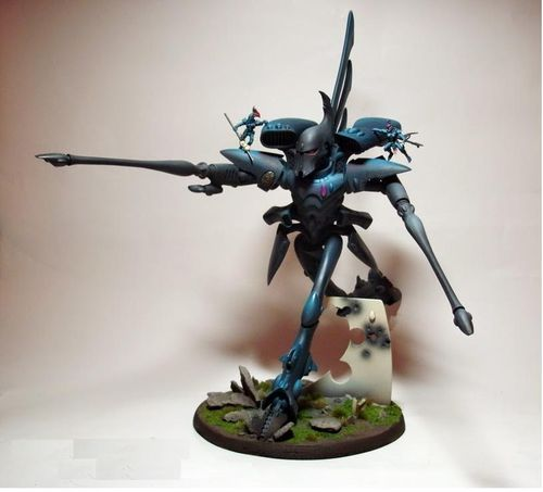 ELDAR REVENANT TITAN WITH PULSARS
