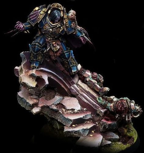 KONRAD CURZE PRIMARCH OF THE NIGHT LORDS