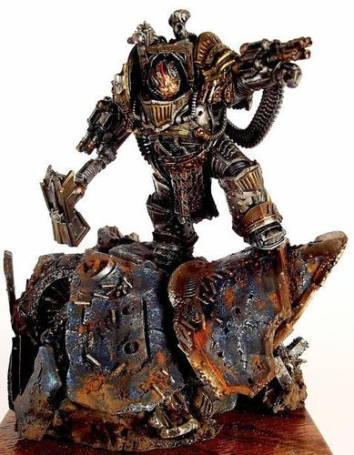 PERTURABO, PRIMARCH OF THE IRON WARRIORS