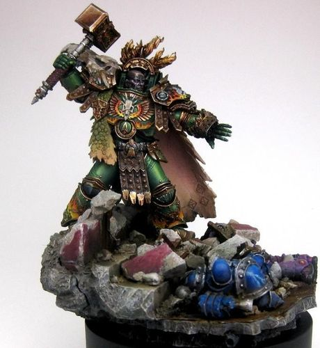 VULKAN PRIMARCH OF THE SALAMANDERS