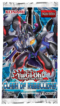 YuGiOh! Clash of Rebellions Booster