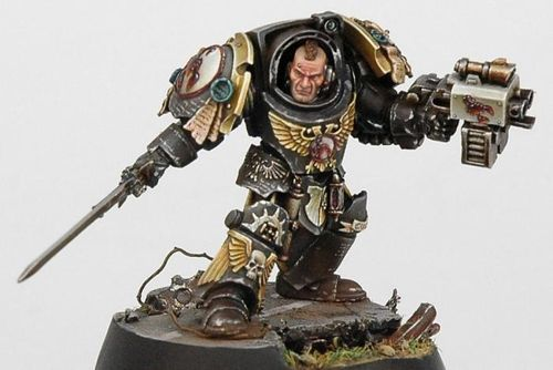 COMMANDER CULLN OF THE RED SCORPIONS