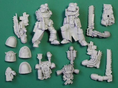 SPACE MARINE APOTHECARY SET