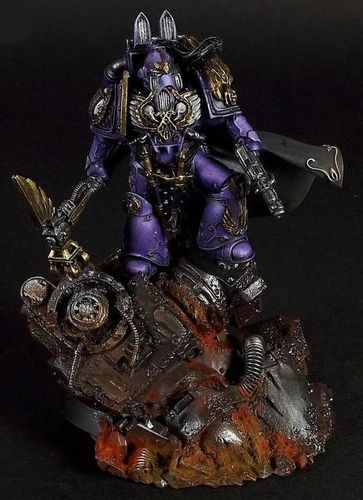 Lord Commander Eidolon of the Emperor's Children
