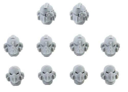 Iron Warriors Legion MKII Heads
