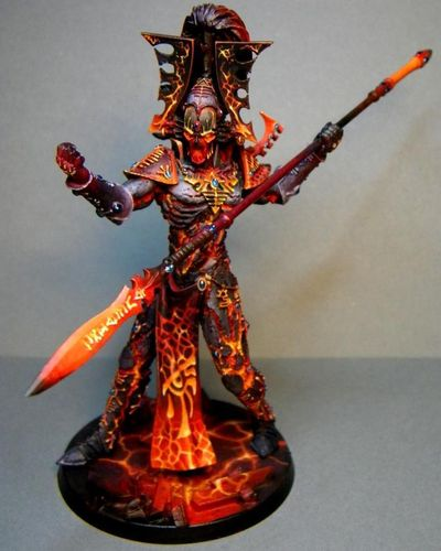 Eldar Avatar with Spear