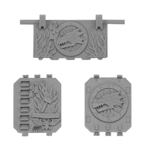 Salamanders Land Raider Doors