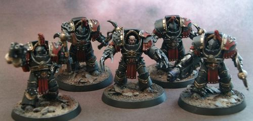 Sons of Horus Justaerin Terminators