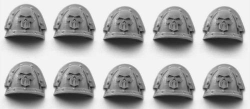 Iron Warriors Legion MKIII Shoulder Pads