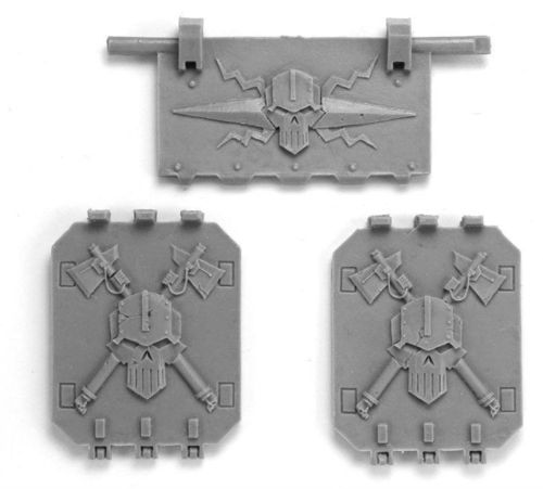 Iron Warriors Land Raider Doors