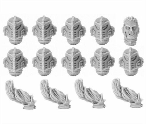 Emperor's Children MKIV Upgrade Set - Heads