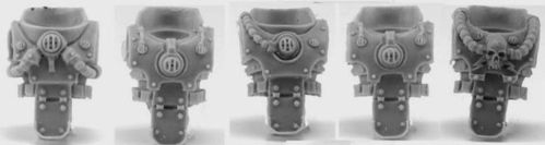 Death Guard Legion Upgrade Set - Torsos