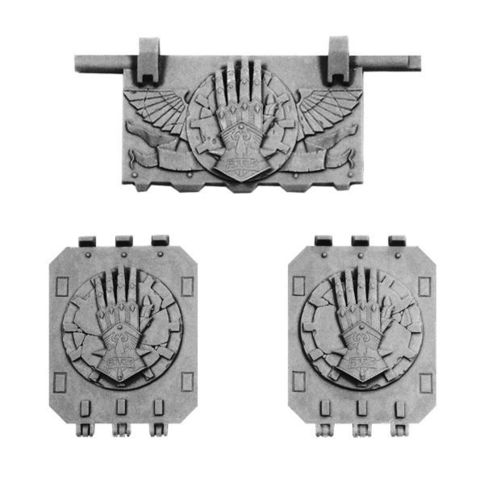 Iron Hands Land Raider Doors