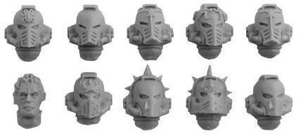 Blood Angels Legion Heads Upgrade Set