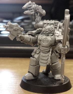 Techmarine in Mk III Armour