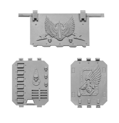 Blood Angels Land Raider Doors