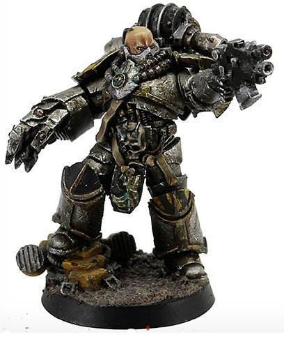 Narik Dreygur, Consul Praevin of the Iron Warriors - Forgeworld Gamesday 2014