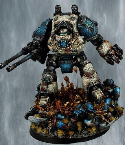 World Eaters Legion Contemptor Dreadnought