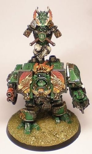 Salamanders Venerable Dreadnought Bray'arth Ashmantle (Body Only)