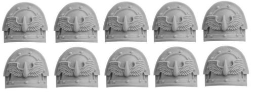 Blood Angels Legion MkIII Shoulder Pads