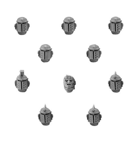 World Eaters Legion MKII Upgrade Set - Heads