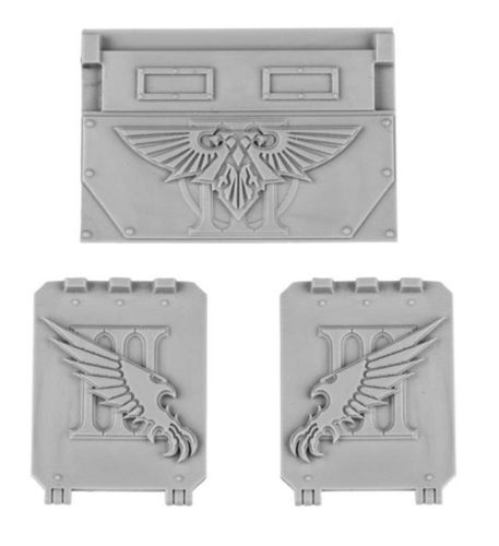 Emperor's Children Legion Rhino Doors