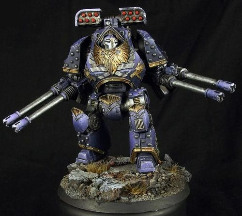 Emperor's Children Legion Contemptor Dreadnought